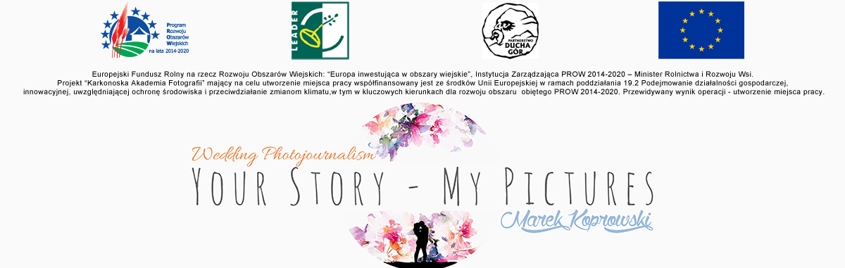 Marek Koprowski Fotografia Ślubna Jelenia Góra Wrocław Wedding Photojournalism logo