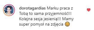 komentarz Doroty Gardias
